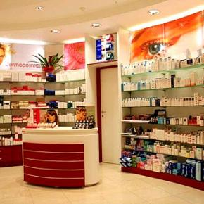 pharmacy furniture italy - Pharmacy Design Ideas
