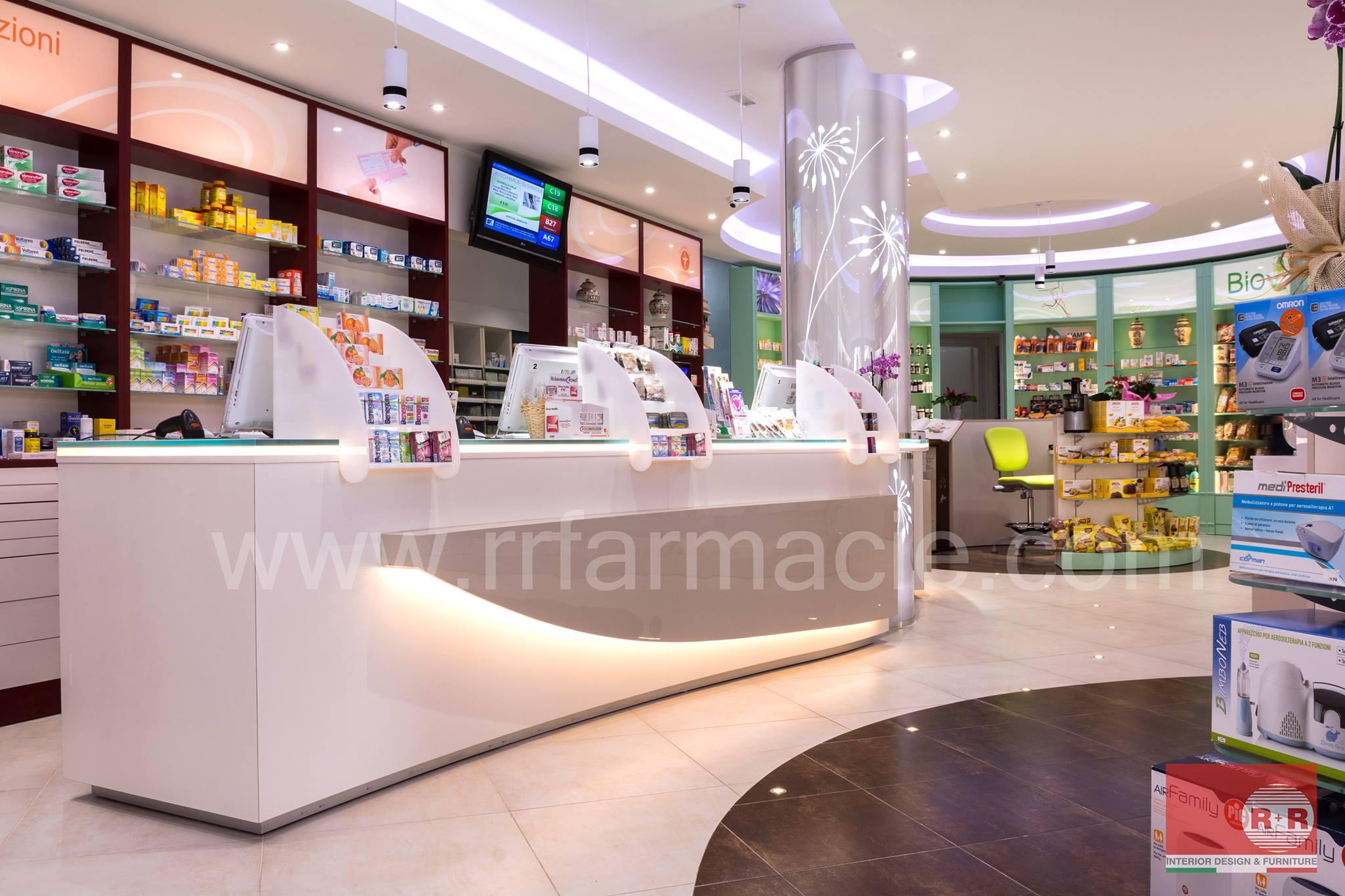 R r farmacie scheda prodotto for Bottigelli arredi farmacia